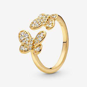 Pandora Butterfly Open Ring
